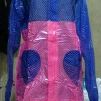 harga Wsn9 Jas Hujan Wanita Jaket Rok Polkadot Tiara Model Rok Muslimah Tokopedia.com