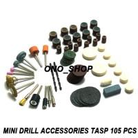 harga Mini Drill Accessories Tasp 105 Pcs Tokopedia.com