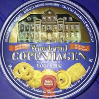 WONDERFUL COPENHAGEN - DANISH BUTTER COOKIES