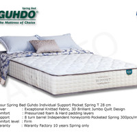 Kasur Individual Support 180x200 - Guhdo Spring Bed