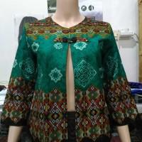 Jual bolero batik kekinian / blazer outer / vest batik Murah