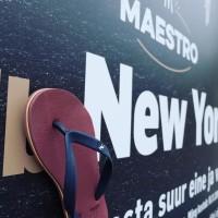 Sandal Panama Sandal Jepit Pria Merah Bata Biru Sandal Pantai