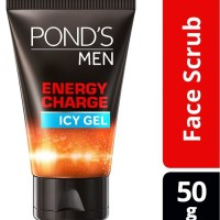 Ponds Men Energy Charge Icy Gel Facial Scrub - 50g