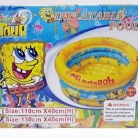Terlaris Mainan Anak KOLAM SPONGEBOB 130CM KOLAM RENANG ANAK