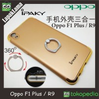 Case iPaky 3 In 1 With Ring Holder Oppo F1 Plus / R9 Ha Limited