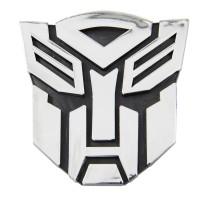 Transformers Autobot Chrome Car Sticker Emblem - Stiker Mobil - Small
