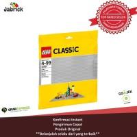 LEGO TERBAIK... LEGO # 10701 CLASSIC_GREY BASE PLATE 48x48 STUDS