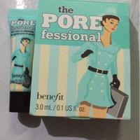 benefit porefessional sample