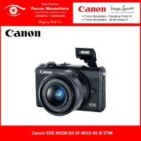 Canon EOS M100 Kit EF-M15-45 IS STM