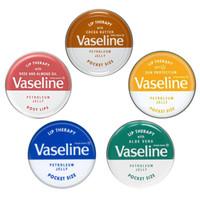 Vaseline Lip Therapy Rosy Aloe Vera Original - 20 Gram Pocket Size
