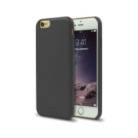 Aprolink iPhone 6 Plus Ultimate Thin Leather Back Cover - Grey