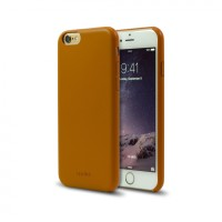 Aprolink iPhone 6 Plus Ultimate Thin Leather Back Cover - Brown