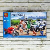 Diskon Besar Lego City Bela 10419 - Police Dog Unit