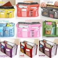 Jual tas korea / korean bag in bag organizer / dual bag in bag / korean bag Murah
