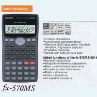 Casio FX-570MS - Scientific Calculator # Kalkulator Ilmiah