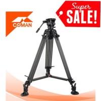 COMAN DX16 Video Tripod Professional Video Tripod COMAN DX 16 / DX-16
