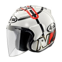 Arai SZ-RAM 4 Helm Half Face - Haga Monza White