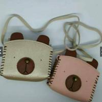 harga Tas Selempang Bayi Genit Korea Panda Bear Pu Sling Bag Anak Impor Tokopedia.com