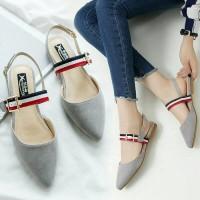 harga Sepatu Flats Shoes Jovina Adl 814 Abu Tokopedia.com