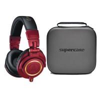 harga Audio Technica M50x Red Gold - Limited Edition + Supercase Medium Tokopedia.com