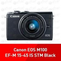 Canon Digital Camera EOS M100 EF-M 15-45 IS STM Black