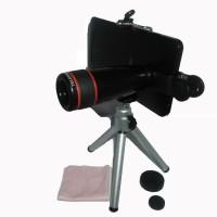 harga Tripod Lensa Telezoom 8x Clip - Mobile Phone Telescope Tokopedia.com