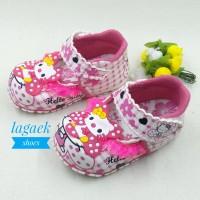Sepatu anak perempuan 1 2 3 tahun FANTA Renda karakter BUNYI TOET DERF