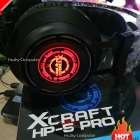Alcatroz 7.1 Headphone X-CRAFT HP-5 Pro. Headset wajib para Gamers