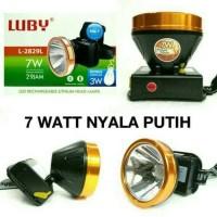 Senter Kepala LUBY 7 Watt LUBY L-2829L