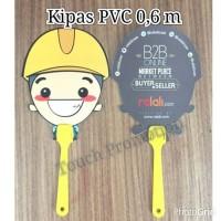 Cetak Kipas Promosi (2.000 pc) / Kipas PVC / PP (Bahan Limited