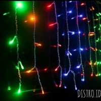 Lampu Tumblr Led Tirai hiasan rumah dekorasi natal cafe pernikahan