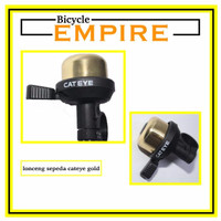 SPECIAL Bel Sepeda Cycling Bell Lonceng Sepeda Cateye Gold Bicycle Em