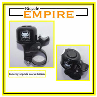 LIMITED EDITION Bel Sepeda Cycling Bell Lonceng Sepeda Cateye Hitam B