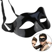 Topeng Pesta Party Mask Topeng Pria Halloween Topeng Wanita - Polos