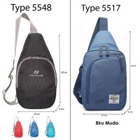 Jual Navy Club Tas Selempang Travel Waterproof 5517 Murah