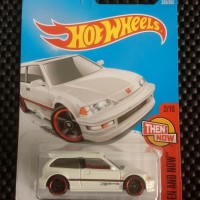 Hot Wheels 90 HONDA CIVIC EF Putih 2017