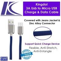 harga Kingdol Jeans Cover 3a Usb To Micro Usb Charge & Data Cable Blue Mc-ju Tokopedia.com