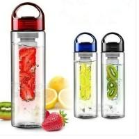 Jual Tritan Water Bottle Botol Air Minum Infuse Citrus Fruit Juice BPA Free Murah