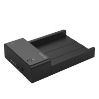 Orico 2.5/3.5 inch Hard Disk Dock USB Type C - 6518C3 - Black