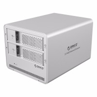 Orico 2-Bay 3.5 SATA HDD Enclosure - 9528U3-V1 - Silver
