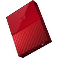 WD My Passport Colorful 3rd Generation USB 3.0 4TB - Red