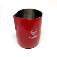 GABEE TIAMO Milk Frothing Jug Handleless Red 300ml