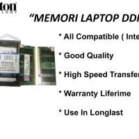 Jual Memori Laptop DDR2 2GB KINGSTON pc2- 6400 Original Murah