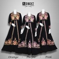 gaun pesta gamis cantik model terbaru baju muslim xxl gamis hitam
