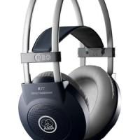 AKG PRO AUDIO K77 Channel Studio Headphones - Semi Closed