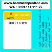 harga Perdana Nomor Cantik Axis Seri Triple Aa 0099 0838 71 770099 #t11 1040 Tokopedia