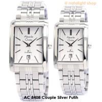 harga Jam Tangan Couple Alexandre Christie 8408 Original Silver Putih Tokopedia.com
