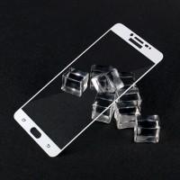 TEMPERED GLASS WARNA Samsung C9 PRO curved full lem anti gores hp kaca