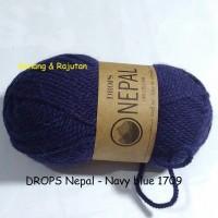 harga Drops Nepal Biru Tua Navy - Benang Rajut Import Impor Wool Wol Alpaka Tokopedia.com