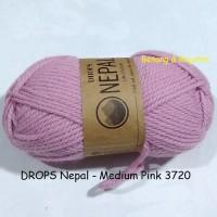 harga Drops Nepal Medium Pink - Benang Rajut Import Impor Wool Wol Alpaka Tokopedia.com